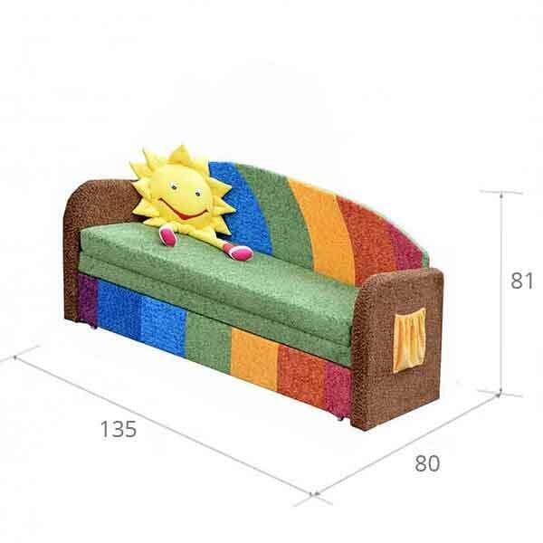 Детский диван Радуга купить за 12690 руб