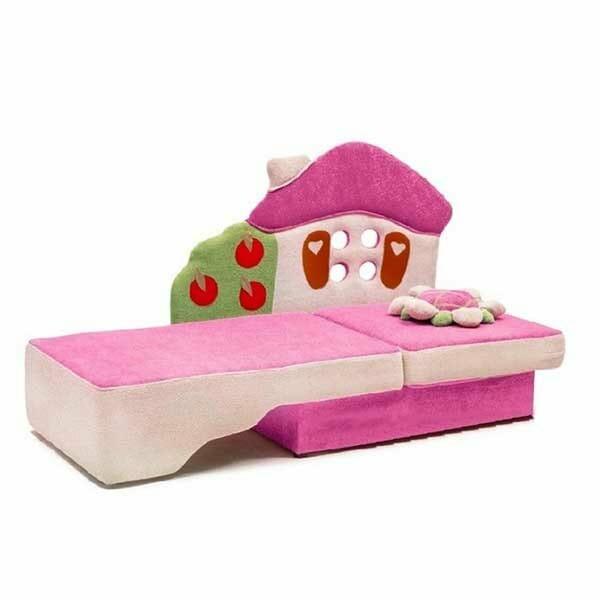 Детский диван Теремок купить за 11590 руб от производителя с бесплатной доставкой по Москве