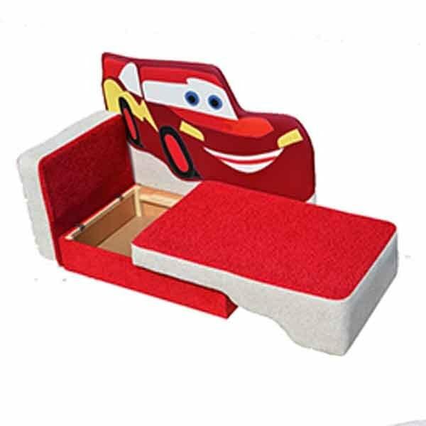 Детский диван Тачка купить за 11590 руб от производителя с бесплатной доставкой по Москве
