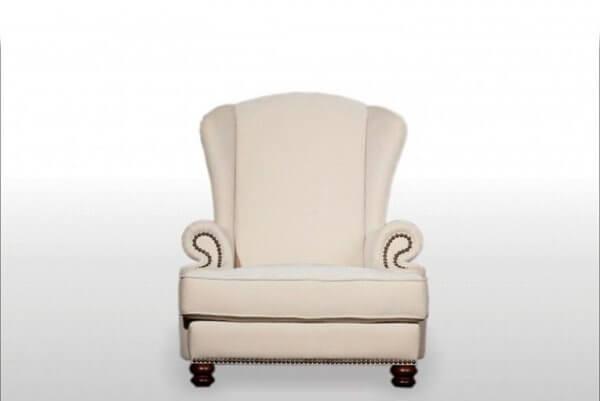 Фото кресла (мебели) в мебельной ткани Микровелюр (Велюр) Мебельери - Mebelliery Ecotex-110