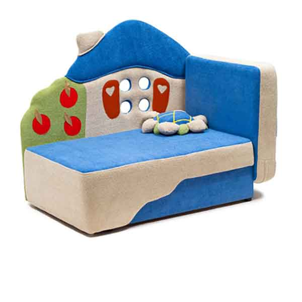 Детский диван Теремок - купить не дорого, цена - 9 500 рублей