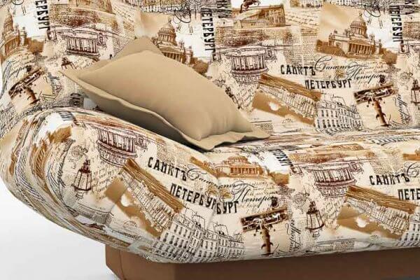 Фото дивана (мебели) в ткани Микровелюр (Велюр) Союз-М - Petersburg 02