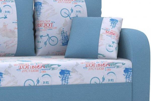 Фото дивана (мебели) в ткани Микровелюр (Велюр) Союз-М - Tourism 2