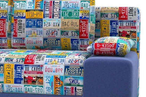 Фото дивана (мебели) в ткани Микровелюр (Велюр) Союз-М - Cadillac