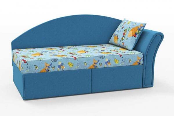Фото дивана (мебели) в мебельной ткани Микровелюр (Велюр) Союз-М - Aqua 01