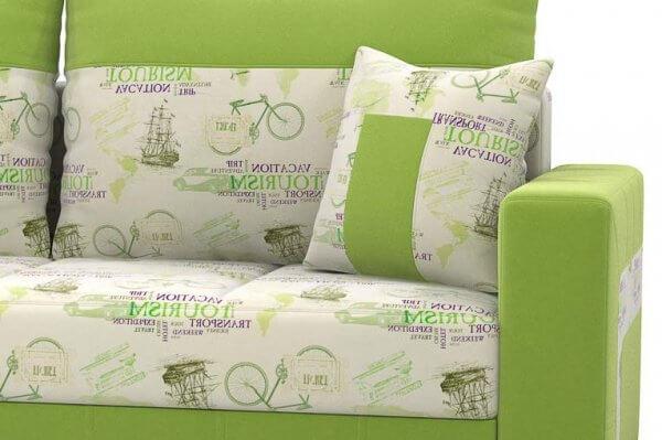 Фото дивана (мебели) в ткани Микровелюр (Велюр) Союз-М - Tourism 3