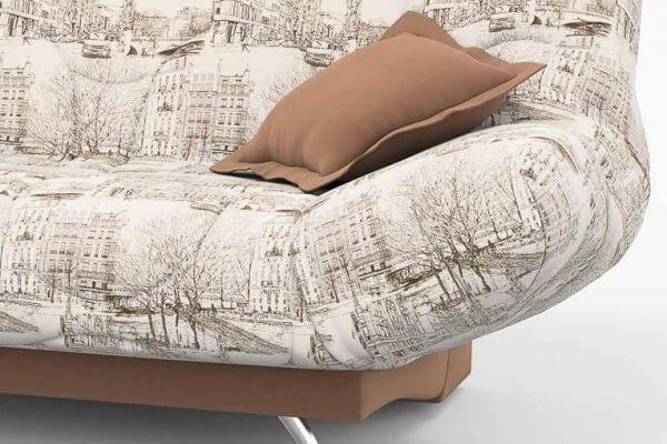 Фото дивана (мебели) в ткани Микровелюр (Велюр) Союз-М - Street 02