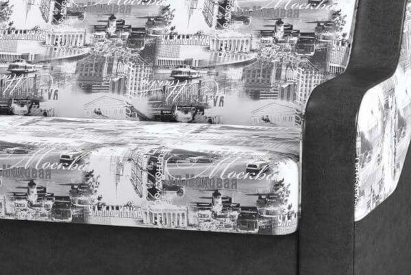 Фото дивана (мебели) в ткани Микровелюр (Велюр) Союз-М - Moscow 01