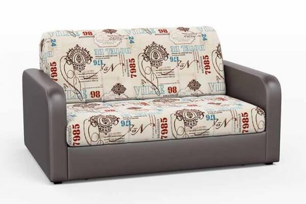 Фото дивана (мебели) в ткани Микровелюр (Велюр) Союз-М - DeVille 1 + Санторини-414