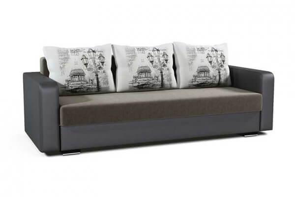 Фото дивана (мебели) в ткани Микровелюр (Велюр) Союз-М - PetersburgPillow 01B