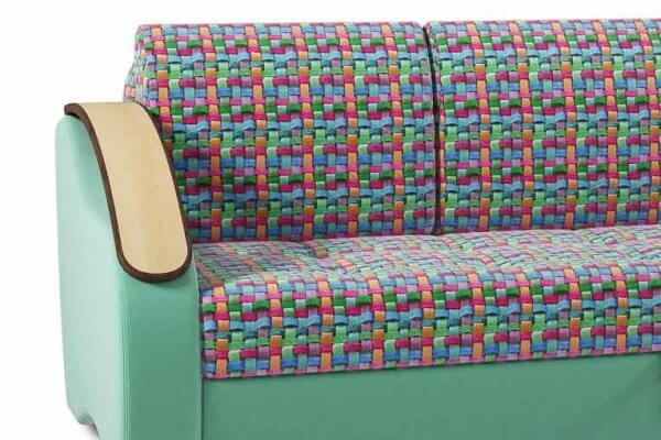 Фото дивана (мебели) в ткани Микровелюр (Велюр) Союз-М - Tissage-01