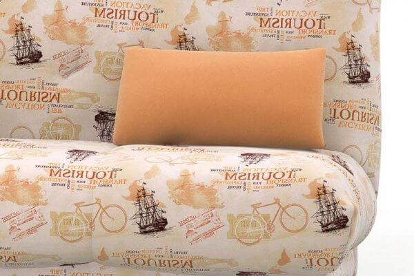 Фото дивана (мебели) в ткани Микровелюр (Велюр) Союз-М - Tourism 4