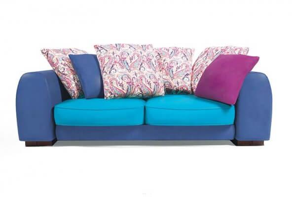Фото дивана (мебели) в мебельной ткани Микровелюр (Велюр) Мебельери - Mebelliery Liberty-col.-06