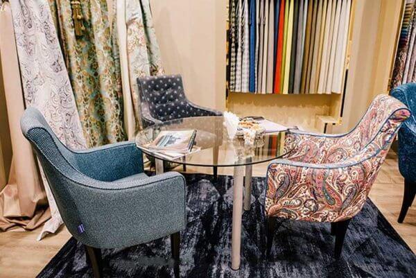 Фото дивана (мебели) в мебельной ткани Микровелюр (Велюр) Мебельери - Mebelliery Liberty-06 + Liverpool-star-08 + Liverpool-tweed-08