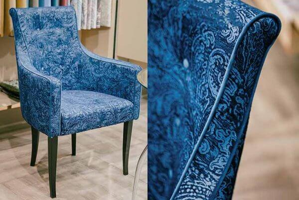 Фото дивана (мебели) в мебельной ткани Микровелюр (Велюр) Мебельери - Mebelliery Debut-col. 05