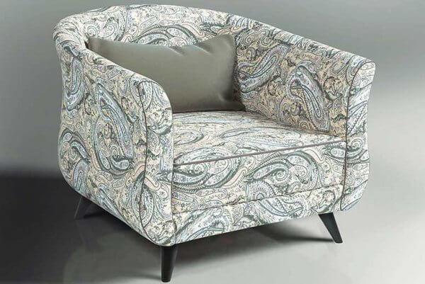 Фото дивана (мебели) в мебельной ткани Микровелюр (Велюр) Мебельери - Mebelliery Liberty-col.-03