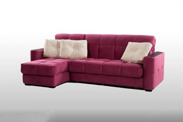 Фото дивана (мебели) в мебельной ткани Микровелюр (Велюр) Мебельери - Mebelliery Soft-touch_13 + Soft-touch_31