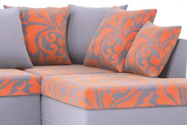 Фото дивана (мебели) в ткани Микровелюр (Велюр) Союз-М - Fandy 04
