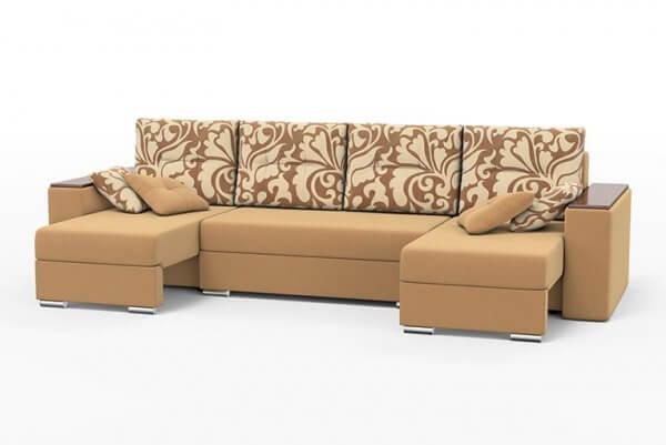 Фото дивана (мебели) в ткани Микровелюр (Велюр) Союз-М - Fandy 02
