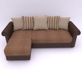 купить угловой диван Гамбург в микровелюре от производителя в Москве со скидкой
