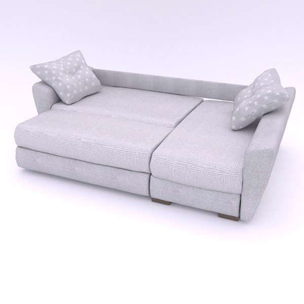 Бесплатная доставка, оплата по факту, гарантия 18 месяцев. Купите в Москве современный и надежный угловой диван «Амстердам» Еврокнижку со скидкой 30% - mebelnavsesto.ru