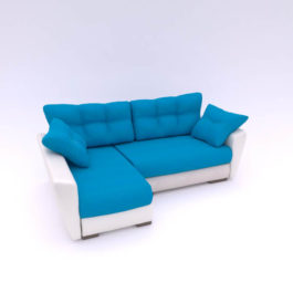 Диван Амстердам Neo - 17 990р | жаккард + экокожа NEO_Azure_Tacoc_05 Интернет-магазин мягкой мебели