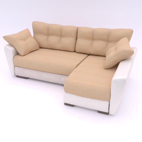 Бесплатная доставка, оплата по факту, гарантия 18 месяцев. Купите в Москве современный и надежный угловой диван «Амстердам» Еврокнижку со скидкой 30% Угловой диван Амстердам Neo - 17 990р   жаккард + экокожа