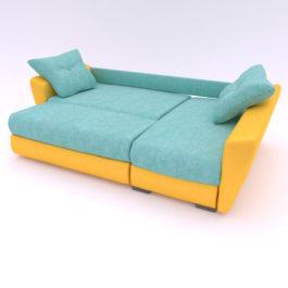 Бесплатная доставка, оплата по факту, гарантия 18 месяцев. Купите в Москве современный и надежный угловой диван «Амстердам» Еврокнижку со скидкой 30% Диван амстердам в ткани VELUTTO (ВЕЛЮР) СОЮЗ-М