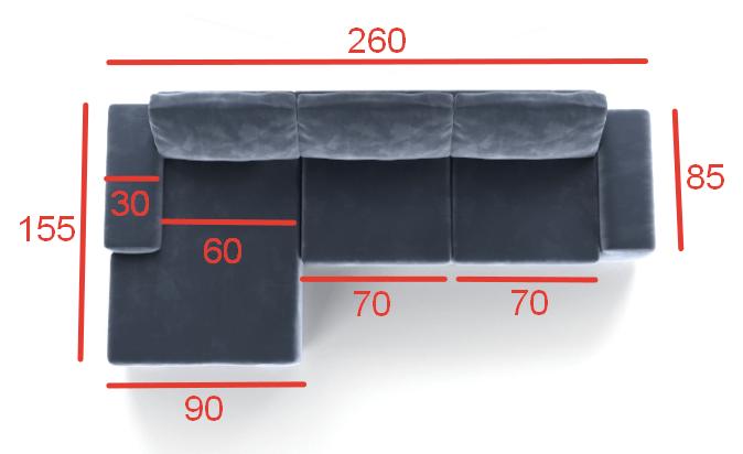 Угловой диван Ариети-1 - 25 990 руб.