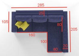 Бесплатная доставка, оплата при получении, гарантия 18 месяцев, любой цвет и размер. Успейте купить угловой диван Ибица недорого от производителя в Москве