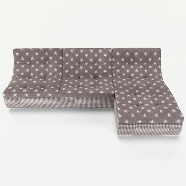 Успейте купить модульный угловой диван Монреаль недорого от производителя в Москве. Бесплатная доставка, оплата при получении, гарантия 18 месяцев.