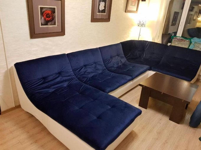 Модульный диван Монреаль реальные фото в интерьере