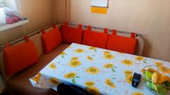 Угловой кухонный диван лагуна фото в интерьере