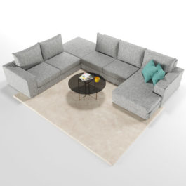 Бесплатная доставка, оплата при получении, любой размер и цвет. Успейте купить модульный диван Ибица от производителя недорого со скидкой