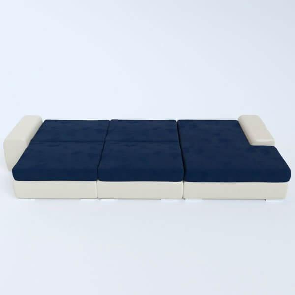 Бесплатная доставка, оплата при получении, гарантия 18 месяцев. Успейте купить угловой диван трансформер Ариети недорого от производителя в Москве
