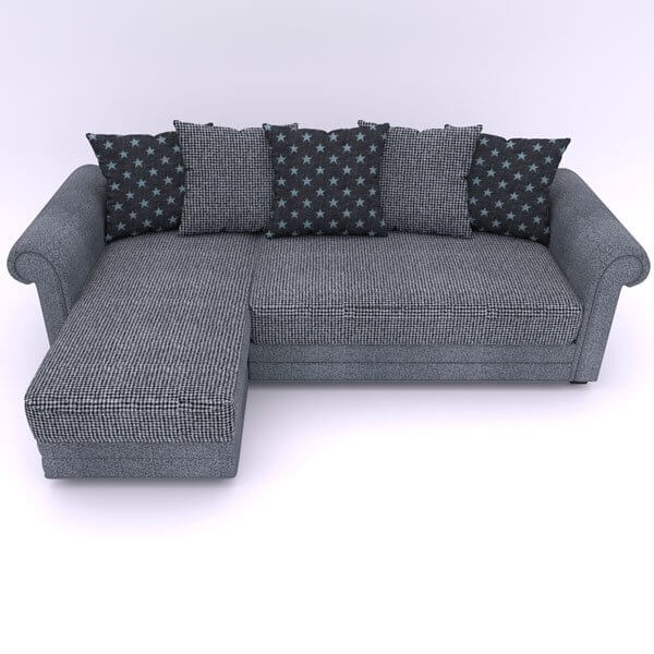 Бесплатная доставка, оплата по факту, гарантия 18 месяцев. Купите угловой диван Гамбург Еврокнижку от производителя в ткани «Mebelliery» со скидкой 30%