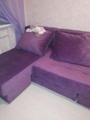 Угловой диван-трансформер Оливер фото в интерьере
