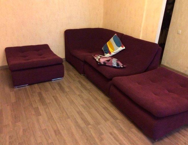 Угловой модульный диван Монреаль в интерьере