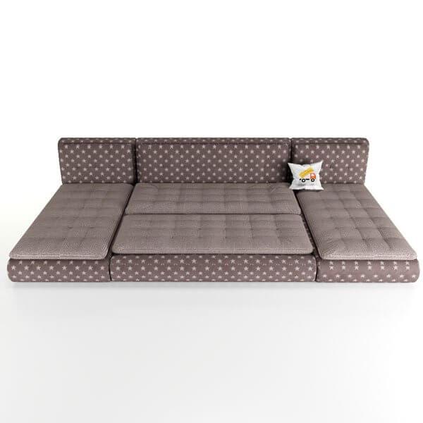Бесплатная доставка, оплата при получении, гарантия 18 месяцев. Успейте купить модульный диван Кормак недорого от 39 990 от производителя в Москве со скидкой 30%