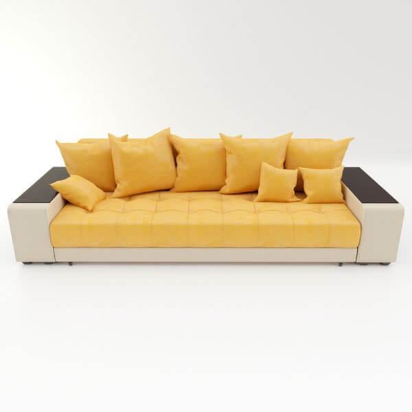 Бесплатная доставка, оплата при получении, любой размер и цвет. Успейте купить прямой диван Дубай недорого от производителя в Москве со скидкой