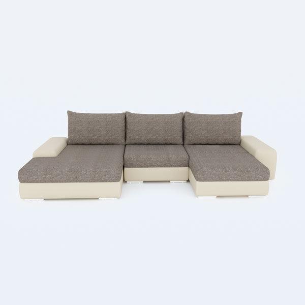 Бесплатная доставка, оплата при получении, гарантия 18 месяцев. Успейте недорого купить угловой диван трансформер Ариети от производителя в Москве