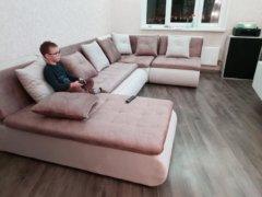 Кормак диван модульный в интерьере