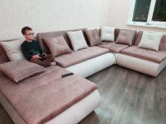 Кормак диван угловой в интерьере