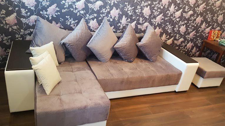 Угловой диван Дубай в интерьере
