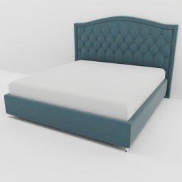 Бесплатная доставка, оплата при получении, любой размер и цвет. Успейте купить от производителя кровать Флоренция с каретной стяжкой со скидкой в Москве