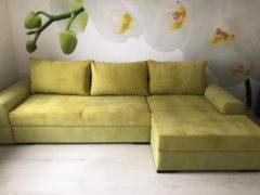 Ариети - угловой диван во флоке