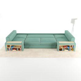 Бесплатная доставка, оплата при получении, любой размер и цвет. Успейте недорого купить модульный диван Ричмонд от производителя в Москве