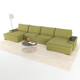 Бесплатная доставка, оплата при получении, любой размер и цвет. Успейте купить со скидкой модульный диван Ричмонд от производителя в Москве