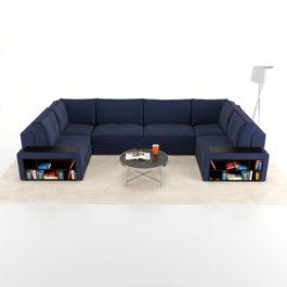 Бесплатная доставка, оплата при получении, любой размер и цвет. Успейте недорого купить модульный диван Ричмонд со скидкой от производителя в Москве