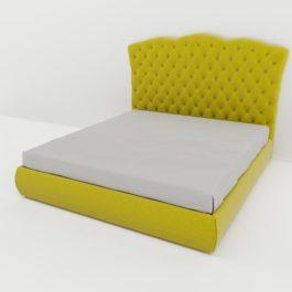 Бесплатная доставка, оплата при получении, любой размер и цвет. Успейте купить от производителя кровать Барселона с каретной стяжкой со скидкой в Москве
